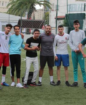 ÉVÉNEMENT : MATCH DE FOOTBALL